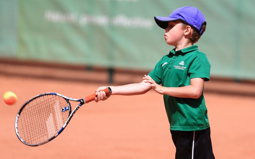 Vilniaus teniso akademijos auklėtinis