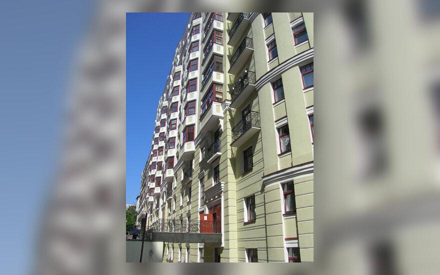 Namas, daugiabutis, pastatas, būstas, statybos