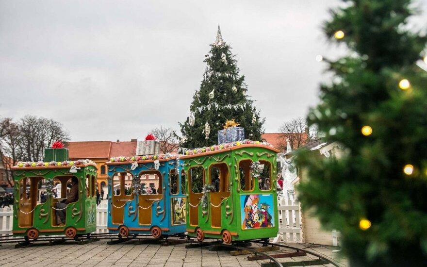 Kaune atidarytas kalėdinis miestelis