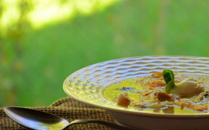 Rūgštynių sriuba su šonine