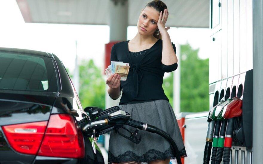 Kokios degalų kainos bus rytoj?