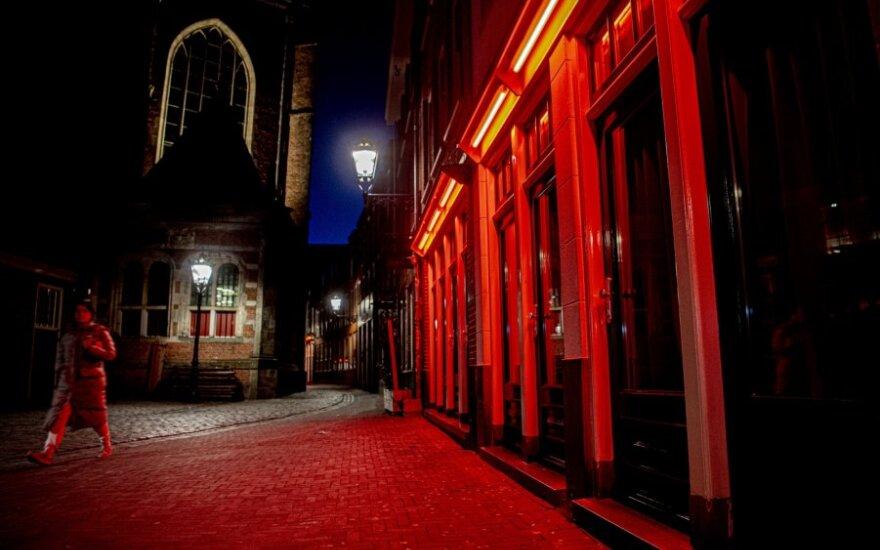 Raudonųjų žibintų kvartalas Amsterdame