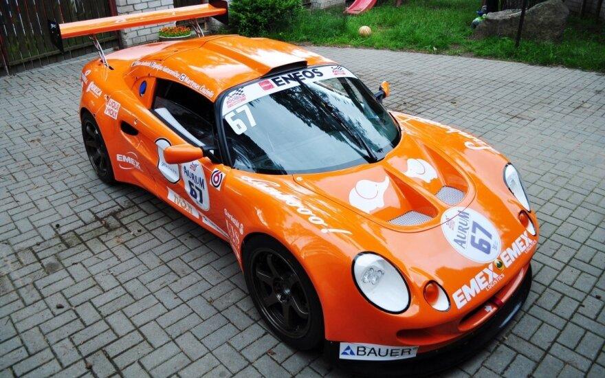 """""""Gera dovana-Emex racing"""" komandos """"Lotus"""" bolidas"""