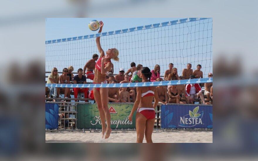 Lietuvos moterų paplūdimio čempionės