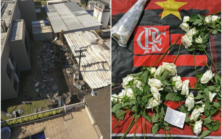 """Gaisras """"Flamengo"""" klubo akademijoje pareikalavo aukų"""