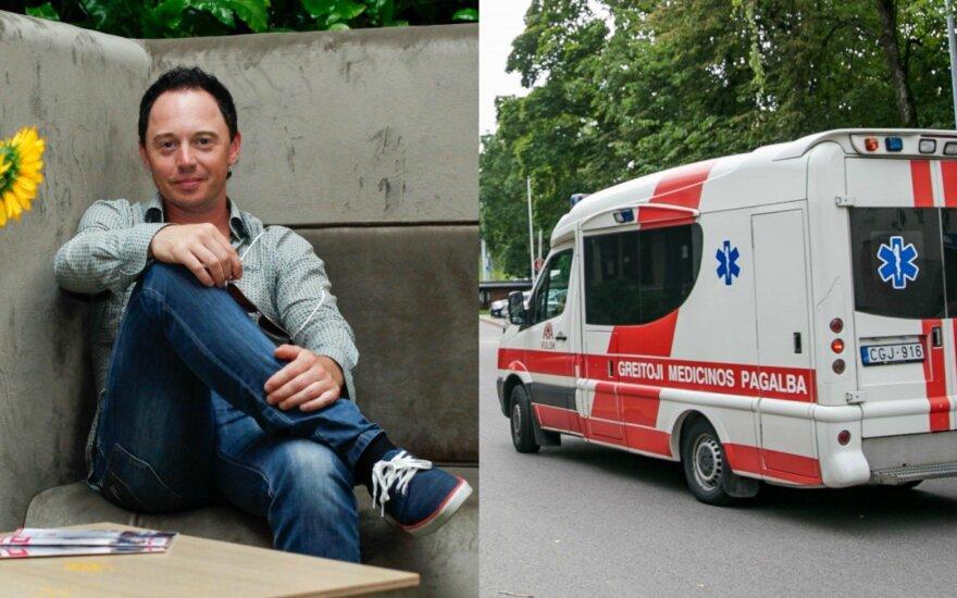 Mindaugas Mickevičius-Mino, greitosios pagalbos automobilis