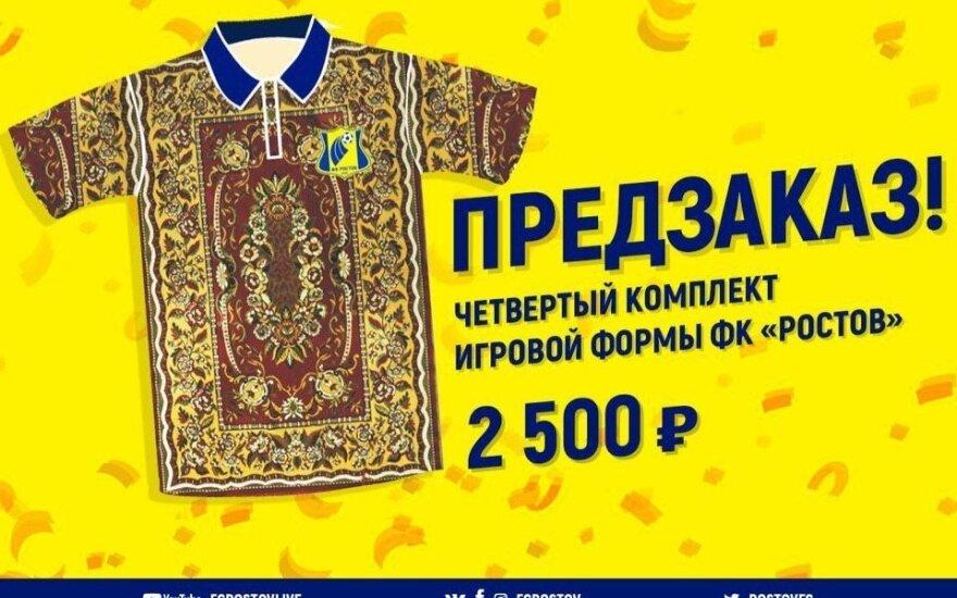 """Nauja """"Rostov"""" apranga"""