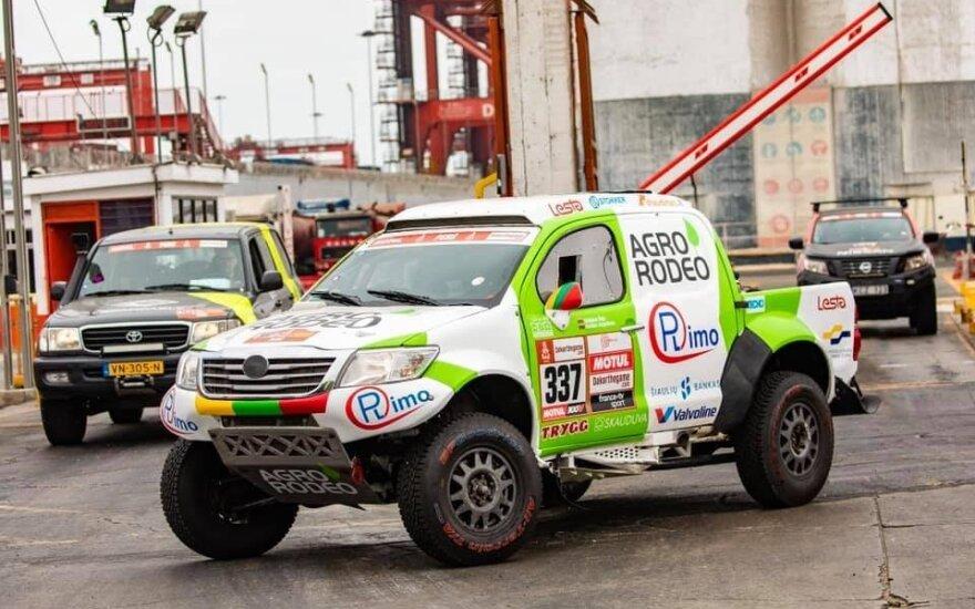 """""""Agrorodeo"""" Dakaro ralio komandos bolidas"""
