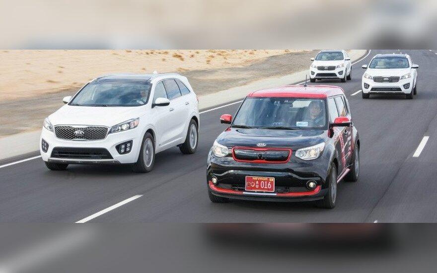 """""""Kia"""" tikisi 2030 m. pasiūlyti visiškai autonomišką automobilį"""