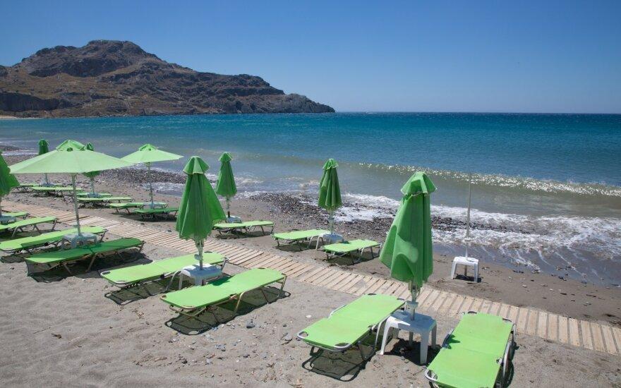 Graikijos premjeras: šalis yra pasirengusi priimti turistus