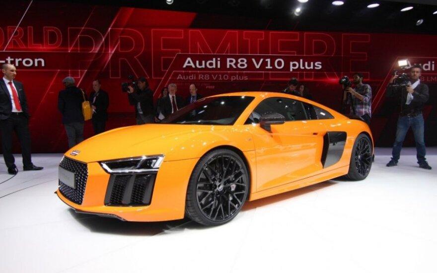Vokietijos automobilių gamintojų naujienos Ženevoje