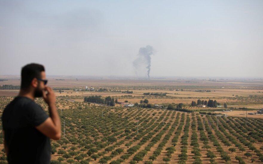 Turkijos pajėgoms – kaltinimai naudojant uždraustus ginklus