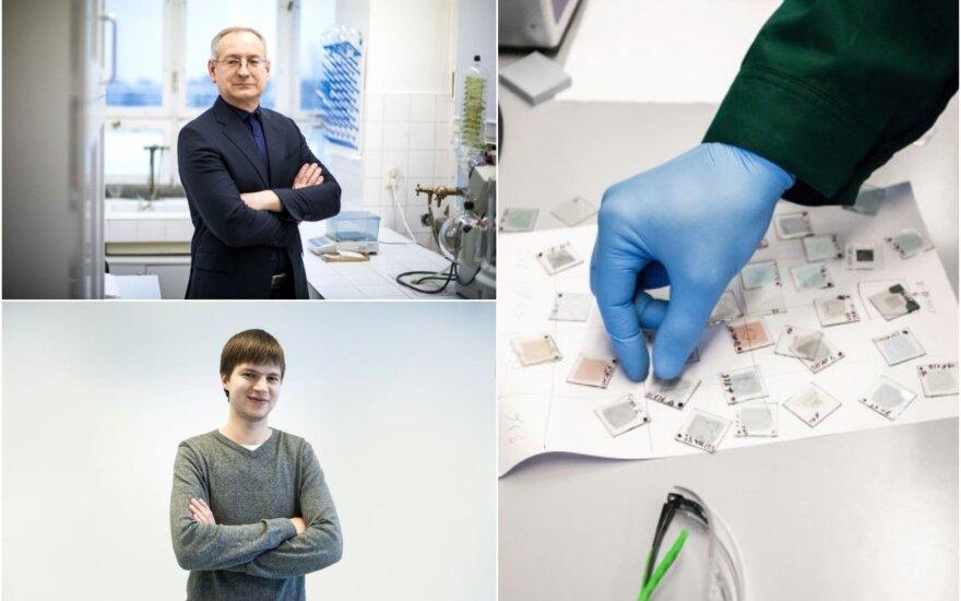 KTU mokslininkai: viršuje – V. Getautis, apačioje – A. Magomedov