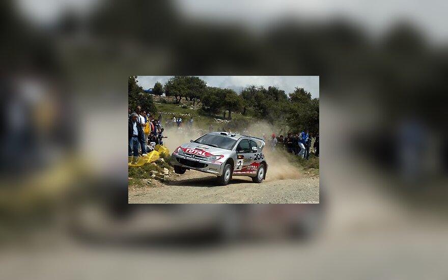 """Marcus Gronhom, """"Peugeot 206 WRC"""""""
