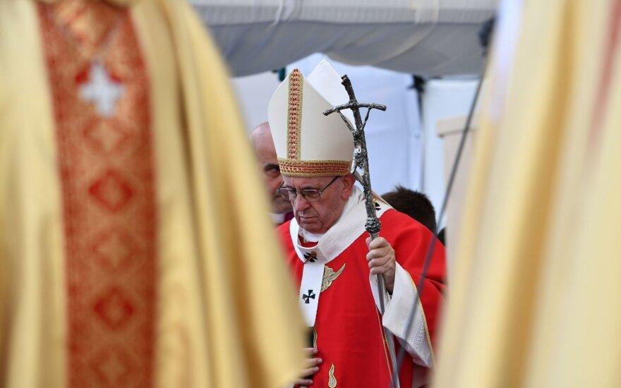 Popiežius Pranciškus Estijoje
