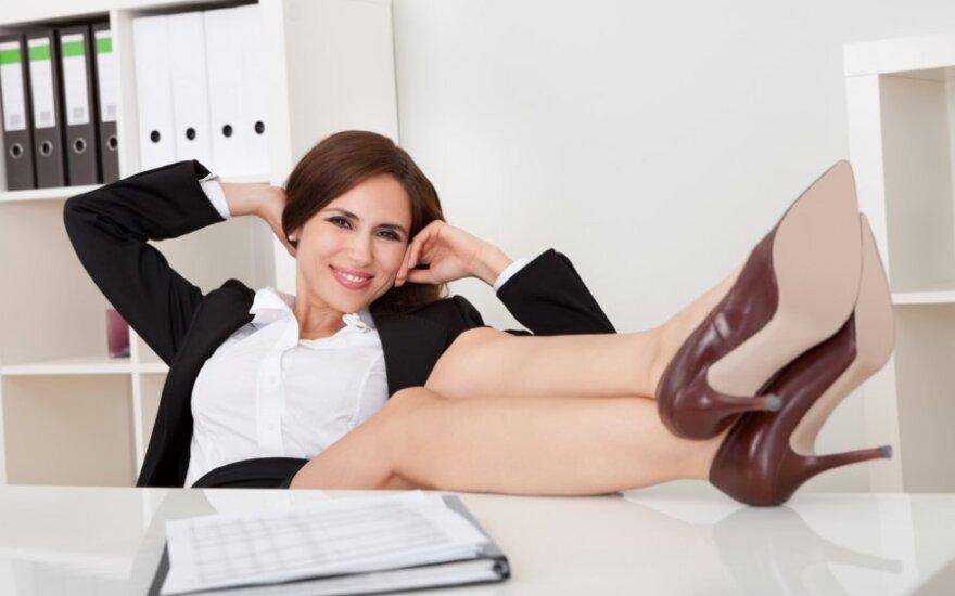 Būti bosu nėra toks jau didelis stresas?