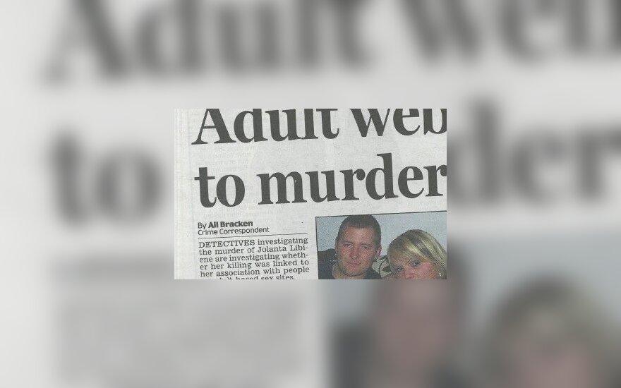 Apie žiaurią žmogžudystę rašo Airijos spauda