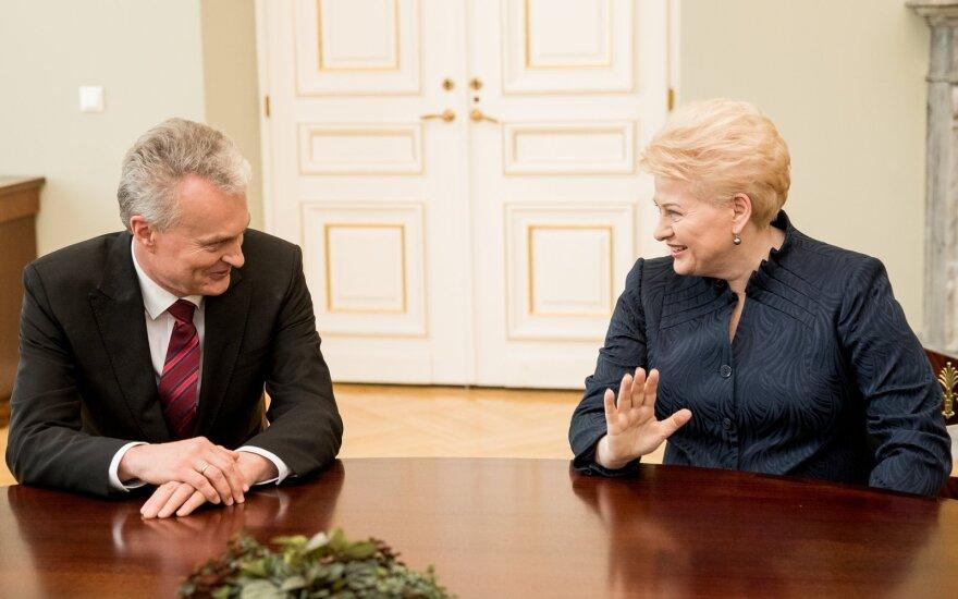 Nausėda susitinka su Grybauskaite: ką jie vienas apie kitą jau yra sakę anksčiau?