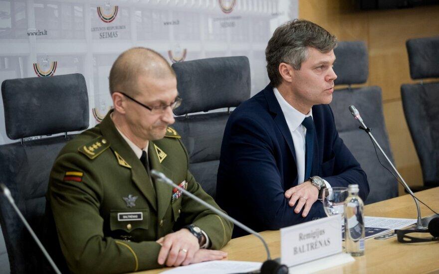 Remigijus Baltrėnas and Darius Jauniškis