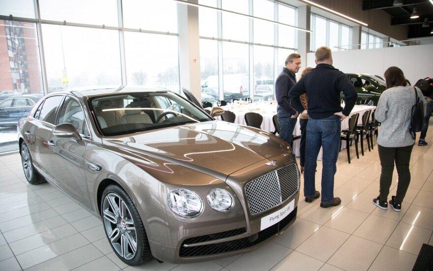 """Bentley"" salono Vilniuje atidarymas"