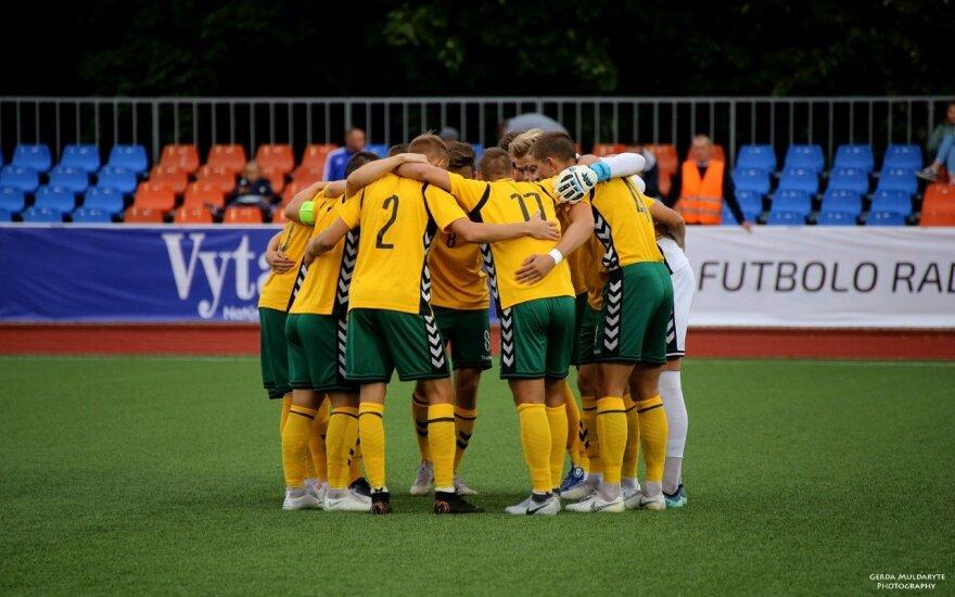 Lietuvos jaunimo (U-21) futbolo rinktinė / FOTO: Gerdos Muldarytės/LFF.lt