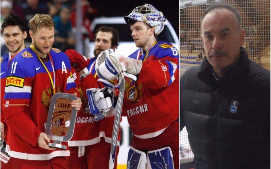 Rusijos ledo ritulio rinktinė, Igoris Nemečekas