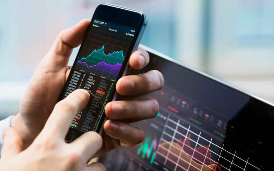 Europos akcijų rinkose įsivyravo smukimo nuotaikos