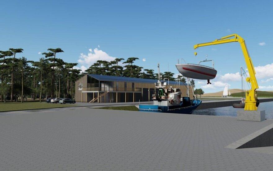 Šventosios jūrų uosto atstatymui – žalia šviesa: netrukus prasidės darbai