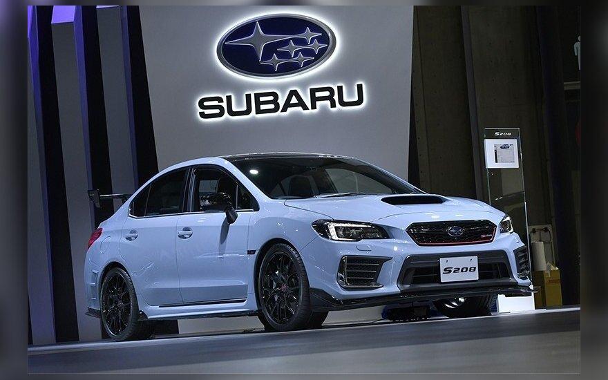 """""""Subaru"""" automobilių patikras atlikdavo nekvalifikuotas personalas"""