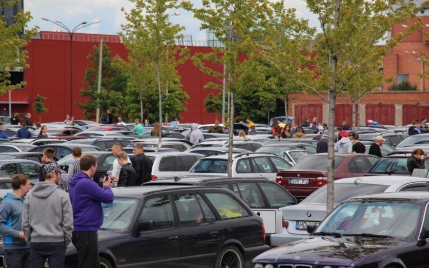 Lietuvos rekordą pasiekę BMW automobilių gerbėjai sukėlė sumaištį