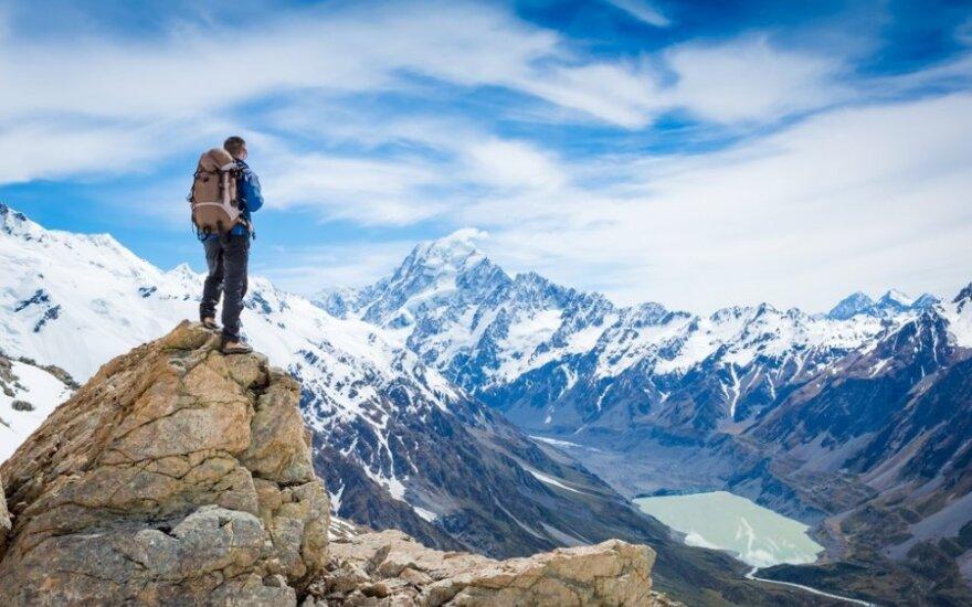 Alytiškis alpinistas antrą kartą atsisveikino su kalnais po to, kai juose antrąsyk gimė