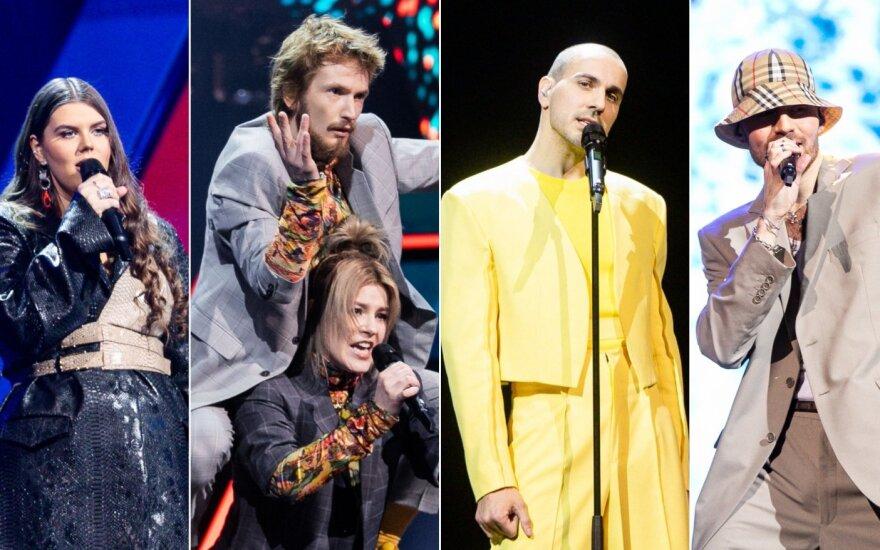 """Antroji nacionalinės """"Eurovizijos"""" atrankos laida"""