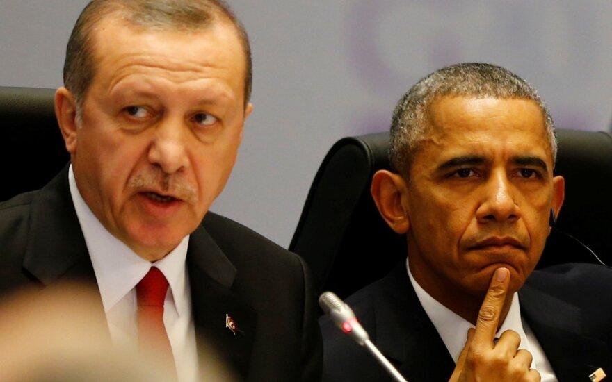 JAV ir Turkijos vadovai susitiks Kinijoje per G-20 viršūnių susitikimą