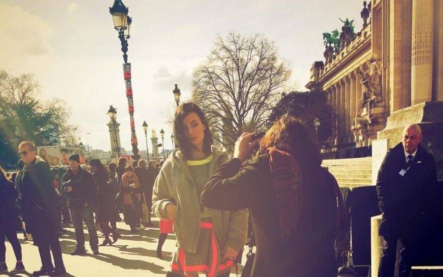 Paryžiaus mados savaitė A.Kuzmickaitei atvėrė kelius į Tolimuosius Rytus