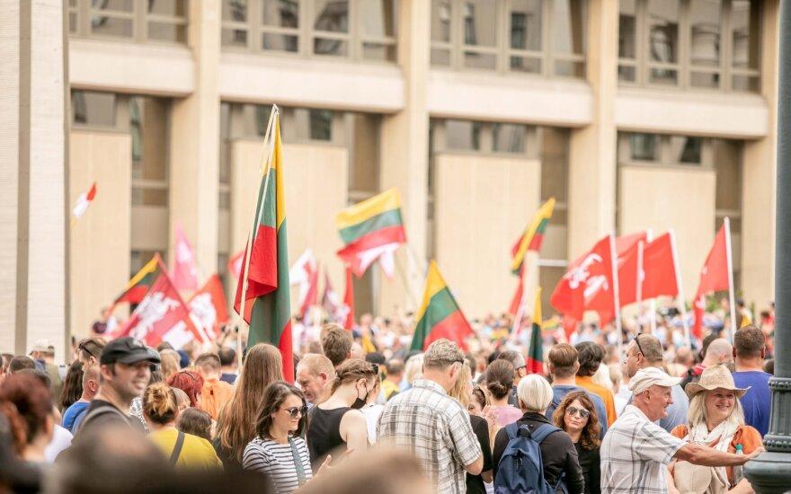 Protesto prie Seimo organizatoriai: mums reikia 50 tūkst. žmonių prie Seimo, o toliau jau yra viskas suplanuota
