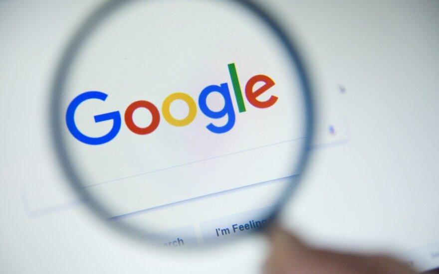 """Rusija perspėjo """"Google"""" dėl kišimosi į rinkimus"""