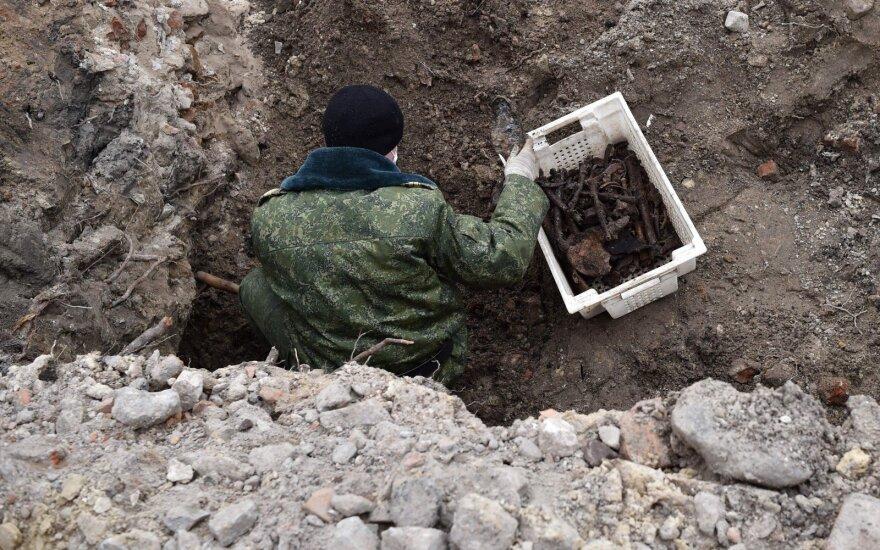 Baltarusijoje rasta masinė kapavietė su šimtų žmonių palaikais