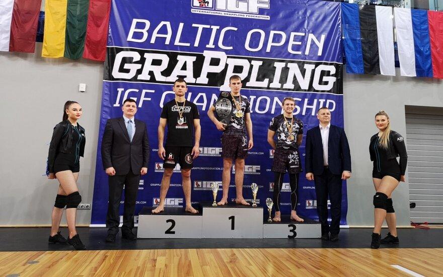 Kasparas Strazdas / FOTO Lietuvos graplingo federacija