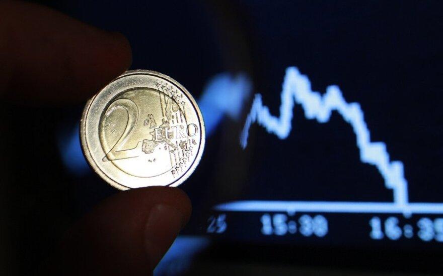 Euras, nuosmukis, kritimas