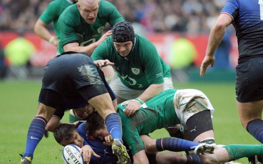 Prancūzijos ir Airijos regbio rinktinių mačas