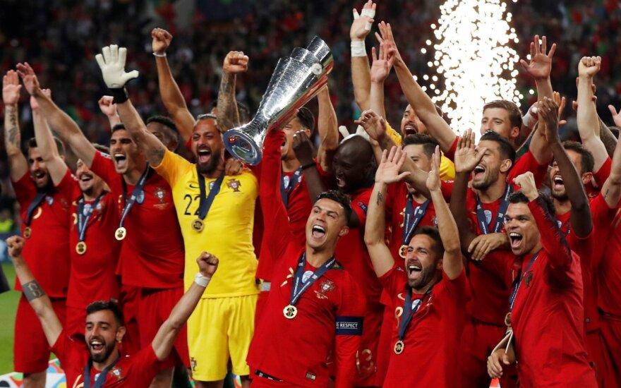 Tautų lygos finalas: Portugalija – Olandija