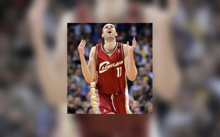 "Žydrūnas Ilgauskas (""Cleveland Cavaliers"")"