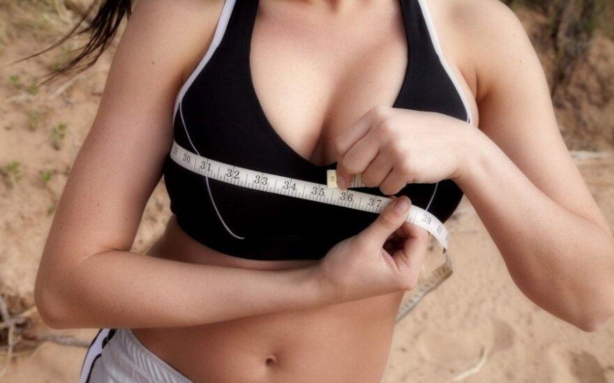 Kas lemia krūtinės dydį ir ar tam turi įtakos maistas