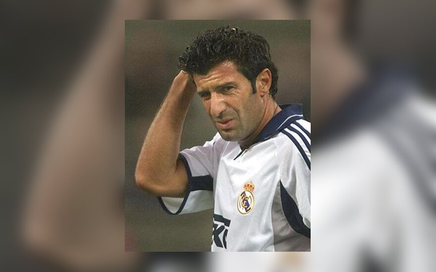 "Luis Figo, ""Real Madrid"""
