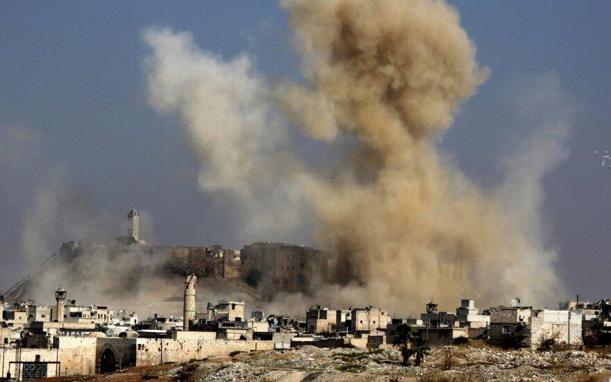 Rusija: Belgijos aviacija užmušė šešis civilius Alepo regione