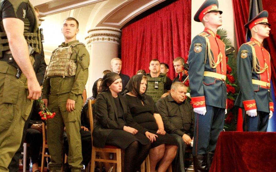 Po Zacharčenkos mirties separatistai sukurpė planą – JAV jį laiko Rusijos remiama apgaule