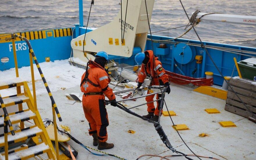 """""""Harmony Link"""" projekte pradėti jūros dugno tyrimo darbai"""