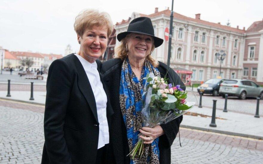 Liv Ullmann ir Gražina Arlickaitė
