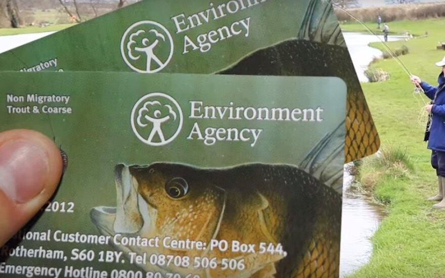 Didžiosios Britanijos žvejybos leidimas