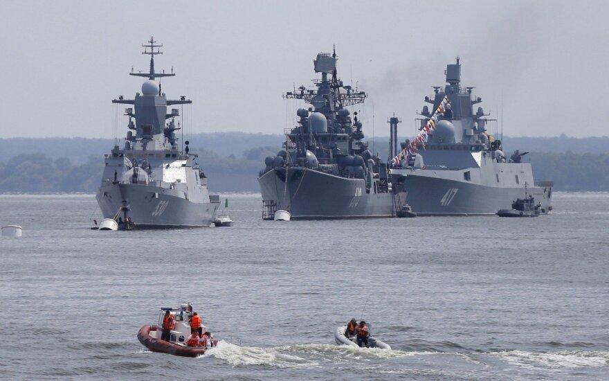 """""""The Times"""": Rusijos karo laivuose – haliucinacijas sukeliantys ginklai"""